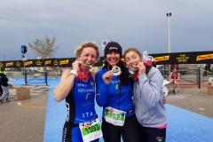 Staffetta-3a-classificata-triathlon-Riccione